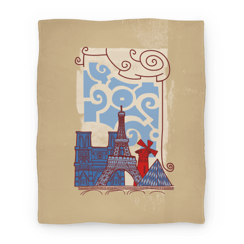 The City of Love Blanket