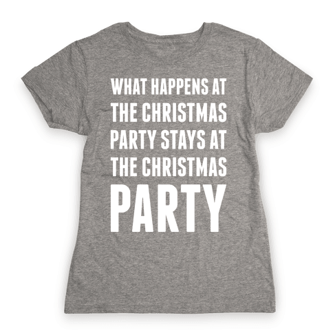 Christmas Party Womens T-Shirt