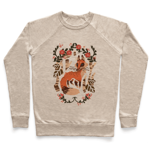 Fox In The Forest Pullover