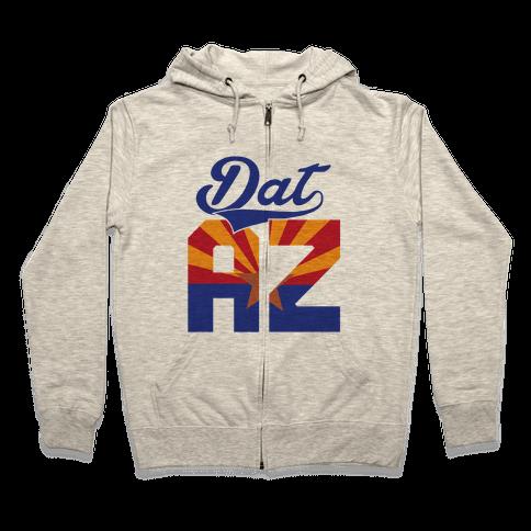 Dat AZ Zip Hoodie
