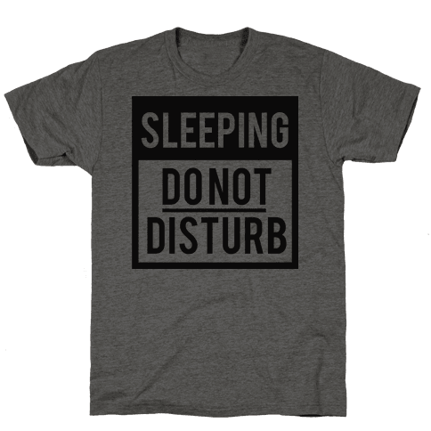 Do Not Disturb (Sleeping)