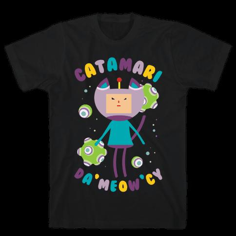 Catamari DaMeowCy Mens T-Shirt