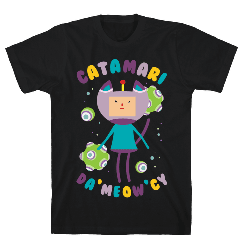 Catamari DaMeowCy Mens T-Shirt