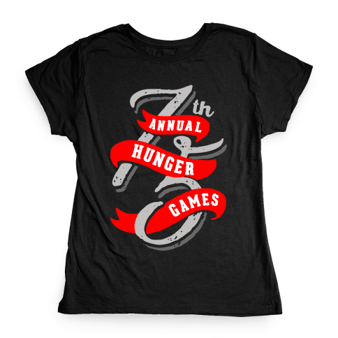 75th Annual Hunger Games Womens T-Shirt