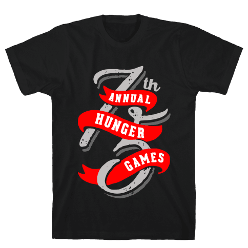 75th Annual Hunger Games Mens T-Shirt