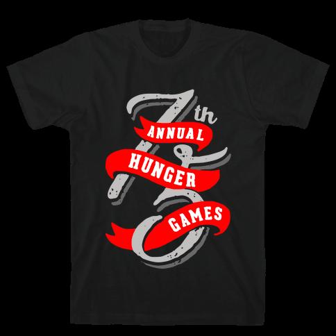 75th Annual Hunger Games Mens T-Shirt