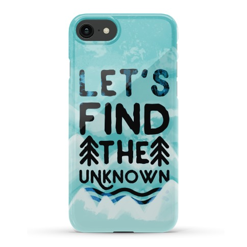 Let's Find the Unknown Phone Case