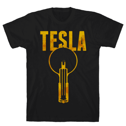 Tesla Mens T-Shirt