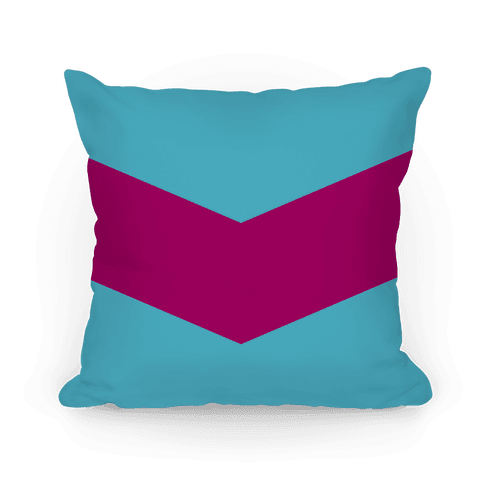 Pink Chevron Stripe Pillow Pillow