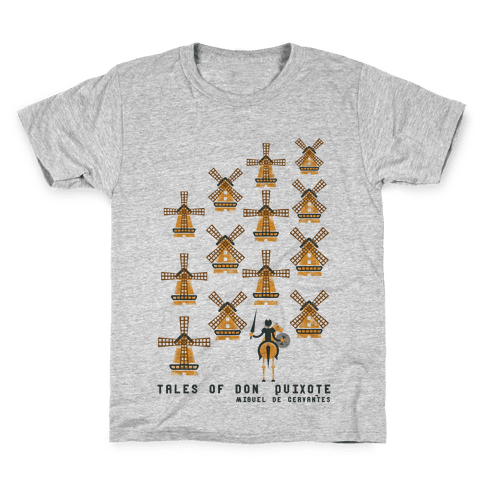 Don Quixote Kids T-Shirt