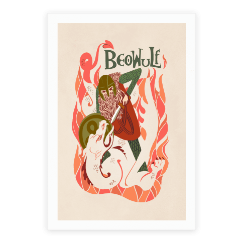 Medieval Epic Beowulf Book Cover