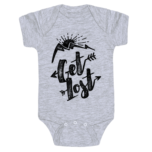 Get Lost Baby Onesy