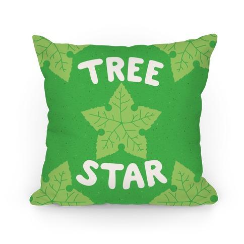 Tree Star Pillow