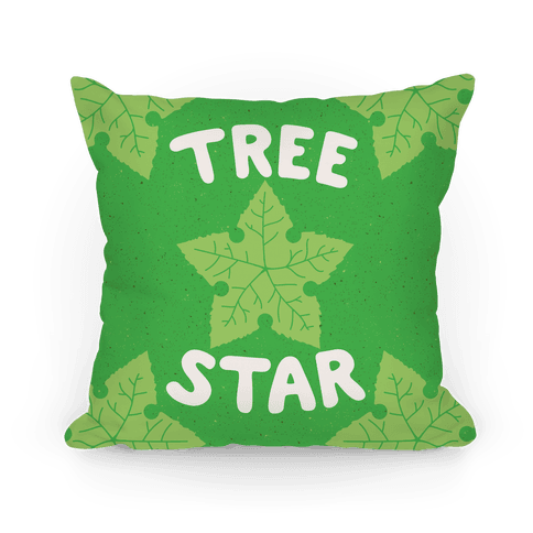 Tree Star Pillow