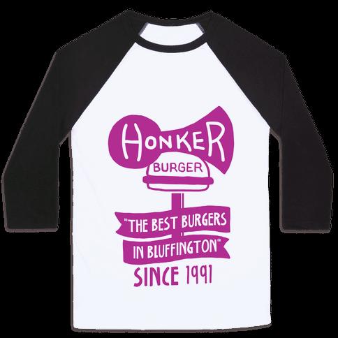 The Honker Burger Tee Baseball Tee
