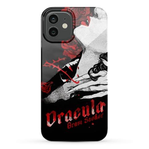 Dracula Book Cover Phone Case
