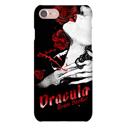 Dracula Book Cover Phone Case