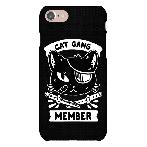 Cat Gang Member Phone Case