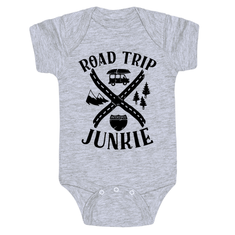 Road Trip Junkie Baby Onesy