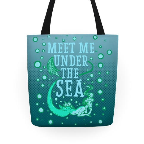 Meet Me Under the Sea Tote