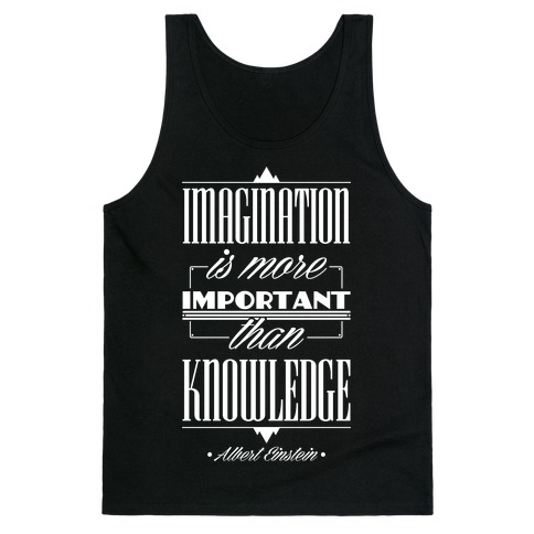 """Imagination"" Albert Einstein Tank Top"