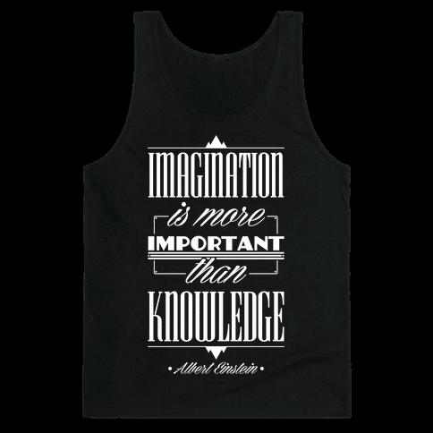 """""""Imagination"""" Albert Einstein Tank Top"""
