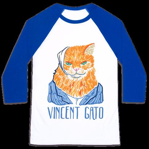 Vincent Gato  Baseball Tee