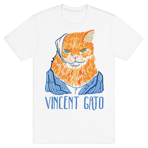 Vincent Gato  Mens T-Shirt