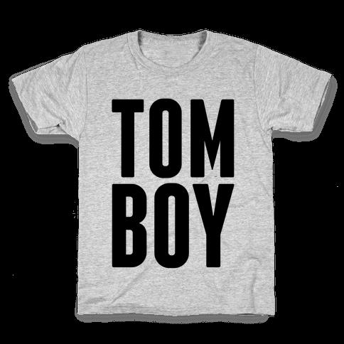 Tom Boy Kids T-Shirt