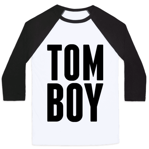 Tom Boy Baseball Tee