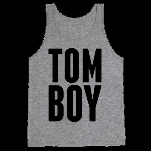 Tom Boy Tank Top