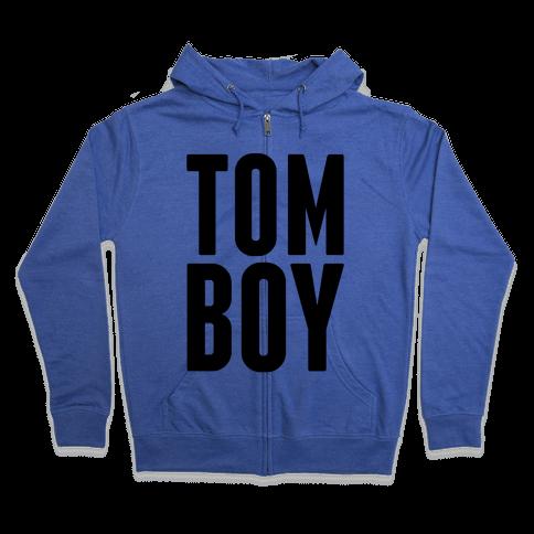 Tom Boy Zip Hoodie