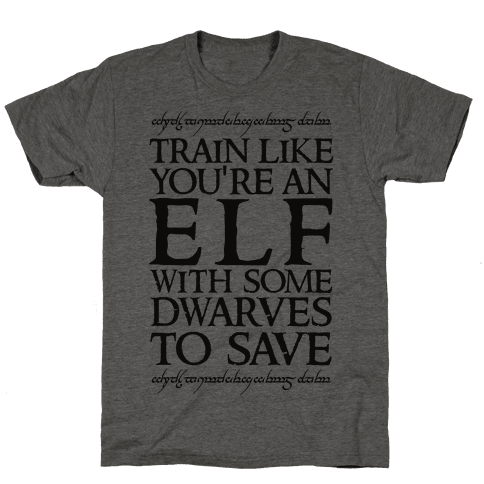 Train Like You're An Elf With Some Dwarves To Save