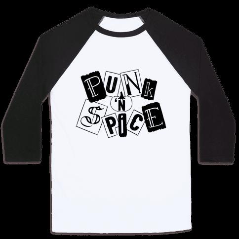 Punk N' Spice Baseball Tee