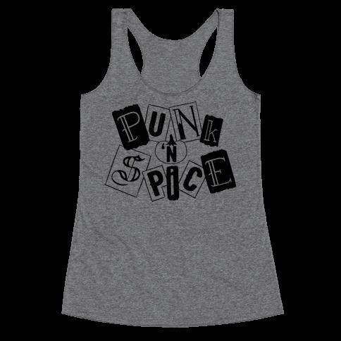 Punk N' Spice Racerback Tank Top