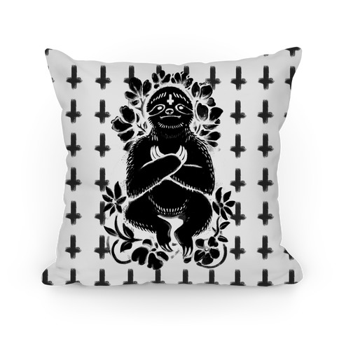 Sinful Sloth Pillow