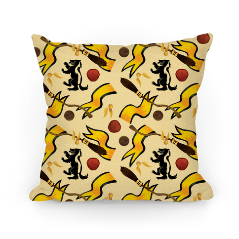 Quidditch Pattern (Hufflepuff Pride)