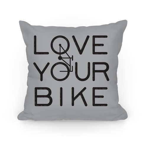 Love Your Bike Pillow