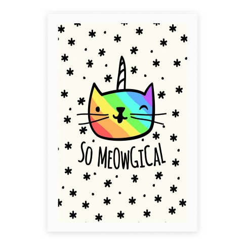 So Meowgical Poster
