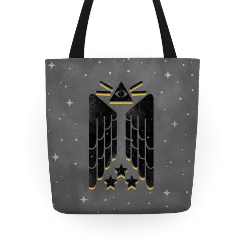 Illuminati Wings Tote