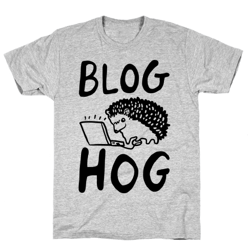 Blog Hog Mens T-Shirt