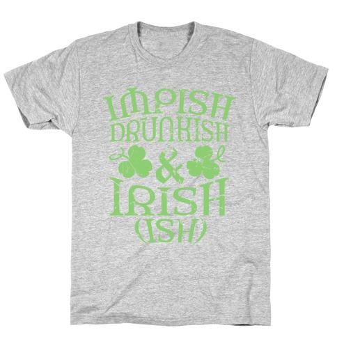Irish Ish Mens/Unisex T-Shirt