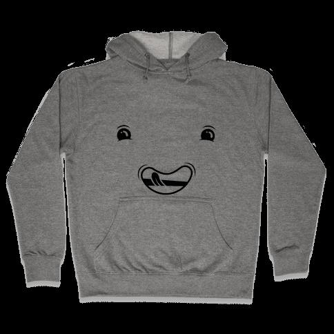 Goofy Face (one-piece) Hooded Sweatshirt