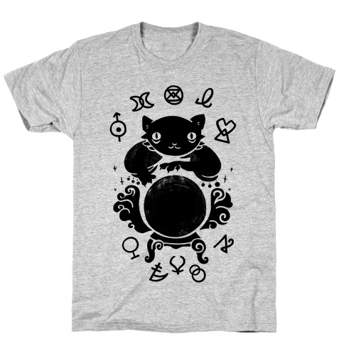 Lucky Tarot Cat #13 T-Shirt