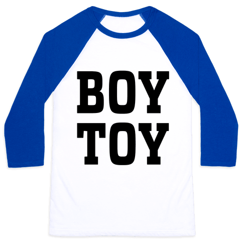 Boy Toy Baseball Tee
