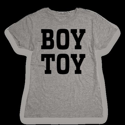 Boy Toy Womens T-Shirt