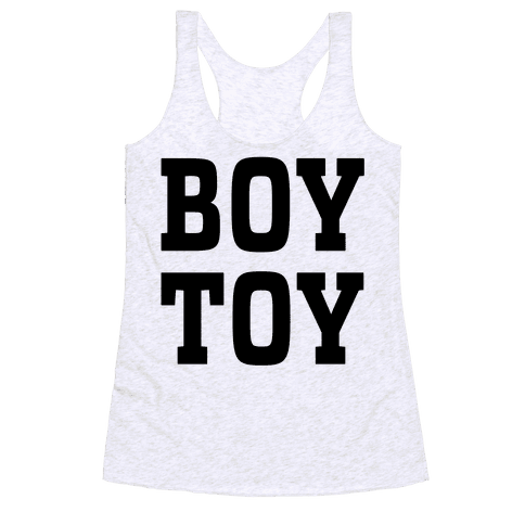 Boy Toy Racerback Tank Top