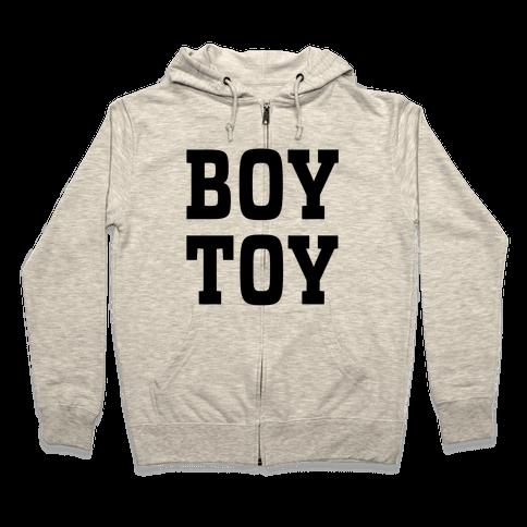 Boy Toy Zip Hoodie