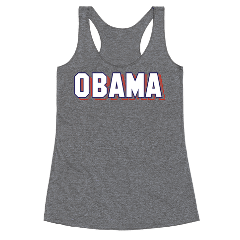 Obama Racerback Tank Top