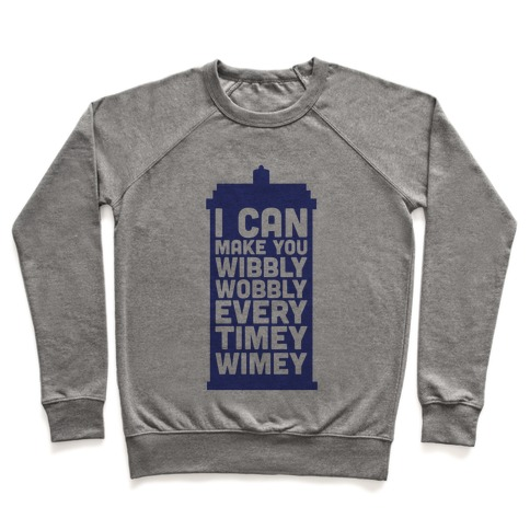 Every Timey Wimey Tank Pullover